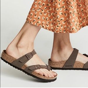 Birkenstock Mayari Sandal Size 39 M Brown Mocha
